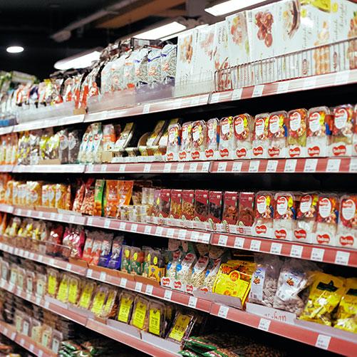 Estantes de supermercado